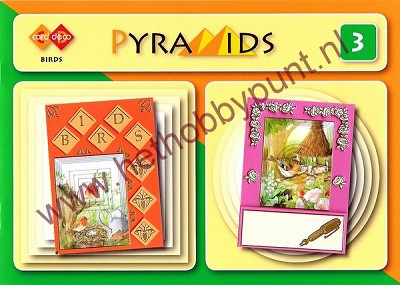 Card Deco Pyramids 3 - Birds