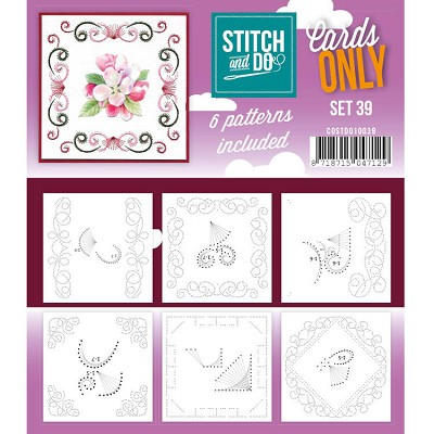 Cards only Stitch and Do 39 - COSTDO10039