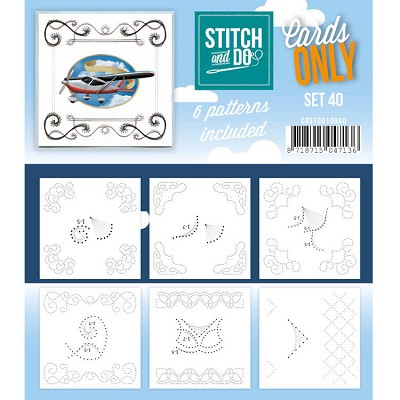 Cards only Stitch and Do 40 - COSTDO10040