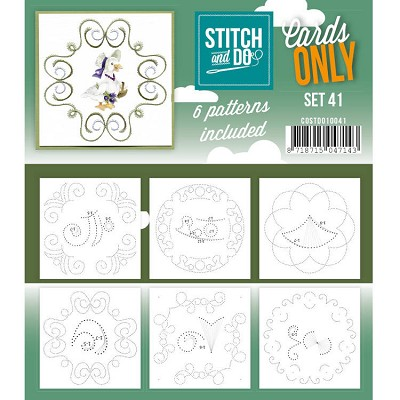 Cards only Stitch and Do 41 - COSTDO10041