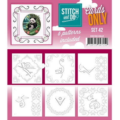 Cards only Stitch and Do 42 - COSTDO10042