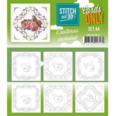 Cards only Stitch and do 44 - COSTDO10044