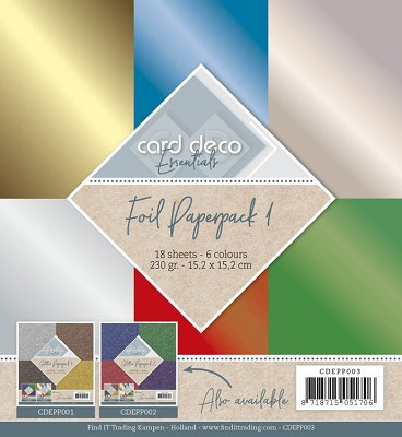 Foil Paperpack - CDEPP003
