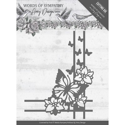 Dies - Amy Design - Words of Sympathy - Sympathy Corner - ADD10156