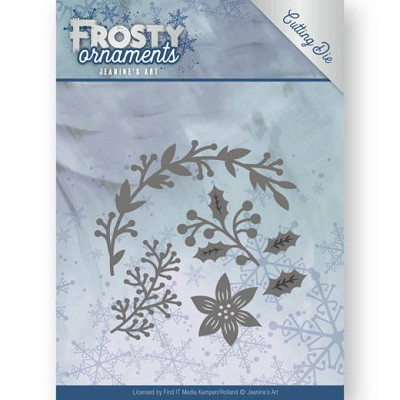 Dies - Jeanine`s Art - Frosty Ornaments - Christmas Branches - JAD10049&