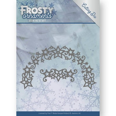 Dies - Jeanine`s Art - Frosty Ornaments - Frosty Wreath - JAD10048᠎
