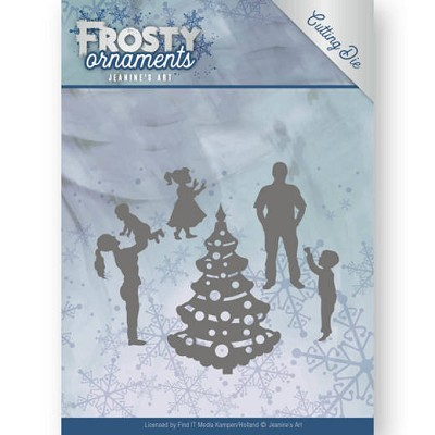 Dies - Jeanine`s Art - Frosty Ornaments - Happy Family - JAD10047