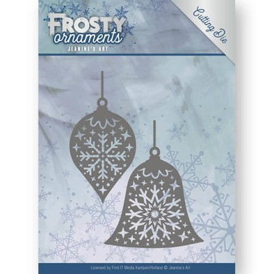 Dies - Jeanine`s Art - Frosty Ornaments - Christmas Baubles - JAD10043