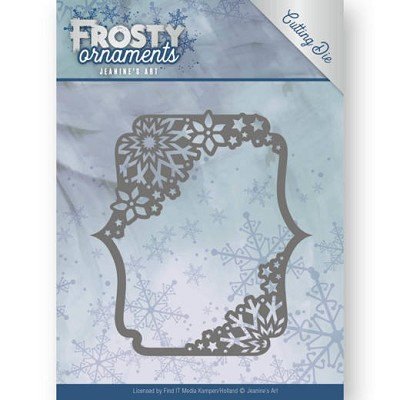 Dies - Jeanine`s Art - Frosty Ornaments - Rectangle Ornament - JAD10042