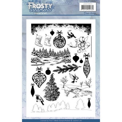 Textstamp - Jeanine`s Art - Frosty Ornaments - JACS10017
