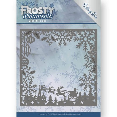 Dies - Jeanine`s Art - Frosty Ornaments - Frosty Frame - JAD10041