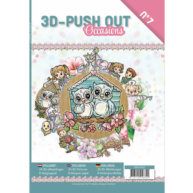 3D Push Out Book - Occasions - 3DPO10007