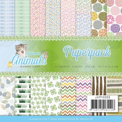 Paperpack - Jeanine`s Art - Young Animals - JAPP10009&#6