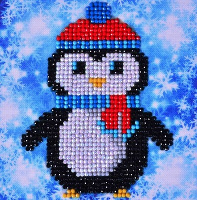 Diamand Dotz - Christmas Penguin Picture - DD2.023