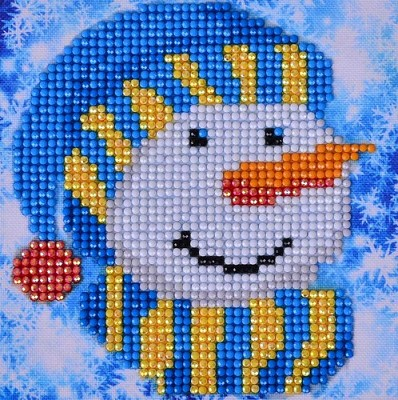 Diamand Dotz - Snowman Cap Picture - DD2.034