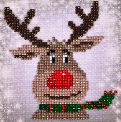 Diamand Dotz - Christmas Reindeer Picture - DD2.028