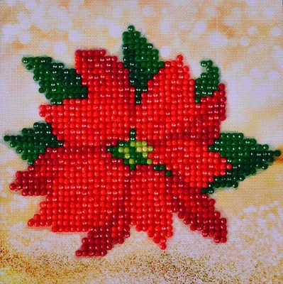 Diamand Dotz - Poinsettia Picture - DD2.025