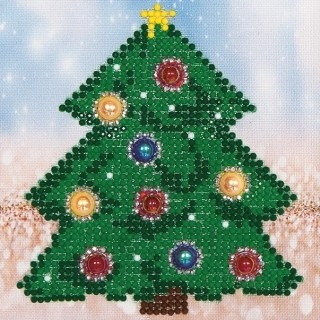 Diamand Dotz - Christmas Tree  Picture - DD2.036