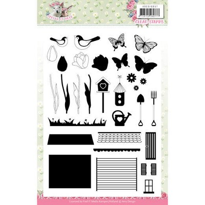 Clear Stamps - Amy Design - Spring is Here - ADCS10057