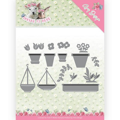 Dies - Amy Design - Spring is Here - Flowerpots - ADD10169