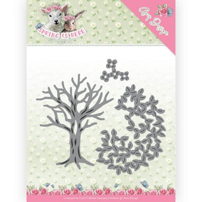 Dies - Amy Design - Spring is Here - Spring Tree - ADD10168