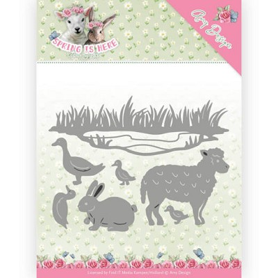Dies - Amy Design - Spring is Here - Spring Animals - ADD10167