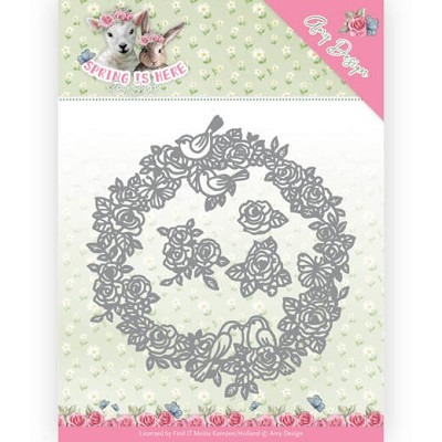 Dies - Amy Design - Spring is Here - Circle of Roses - ADD10166