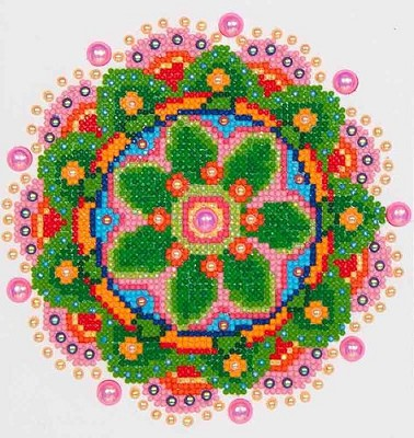 Diamand Dotz - Flower Mandala - DD3.008