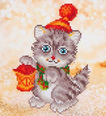 Diamand Dotz - Christmas Kitten Glow - DD3.013