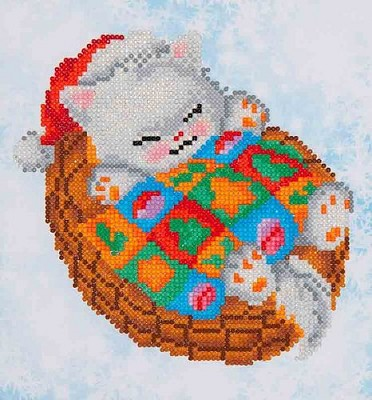 Diamand Dotz - Snug Christmas Kitty - DD3.017