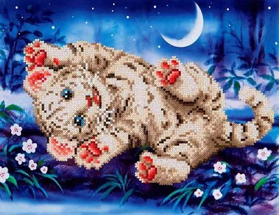 Diamand Dotz - Baby Tiger Roly Poly - DD5.005