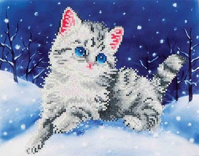 Diamand Dotz - Kitten in the Snow - DD5.006