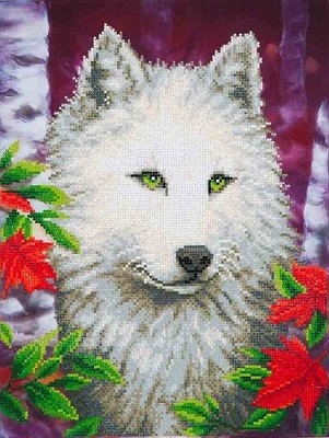 Diamond Dotz - White Wolf - DD7.007