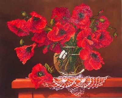 Diamond Dotz - Red Poppies - DD9.002