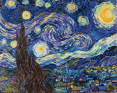 Diamond Dotz - Starry Night (Van Gogh) - DD9.001