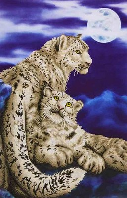 Diamond Dotz - Snow Leopards - DD12.004