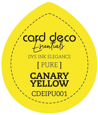 Card Deco Essentials Fade-Resistant Dye Ink Canary Yellow - CDEIPU001