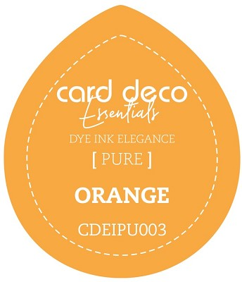 Card Deco Essentials Fade-Resistant Dye Ink - Orange - CDEIPU003