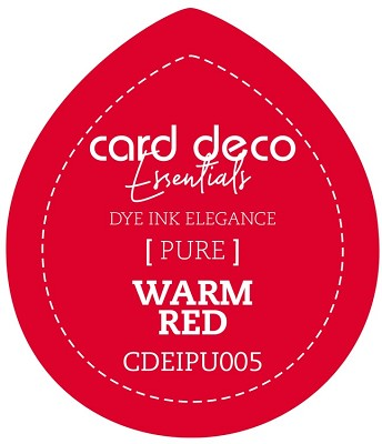 Card Deco Essentials Fade-Resistant Dye Ink - Warm Red - CDEIPU005