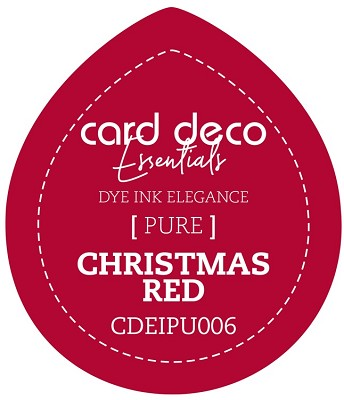 Card Deco Essentials Fade-Resistant Dye Ink - Christmas Red - CDEIPU006