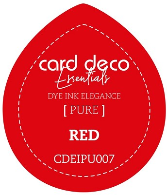 Card Deco Essentials Fade-Resistant Dye Ink - Red - CDEIPU007