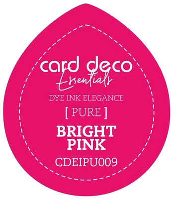 Card Deco Essentials Fade-Resistant Dye Ink - Bright Pink - CDEIPU009