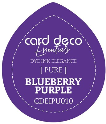Card Deco Essentials Fade-Resistant Dye Ink - Blueberry Purple - CDEIPU010