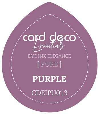 Card Deco Essentials Fade-Resistant Dye Ink - Purple - CDEIPU013