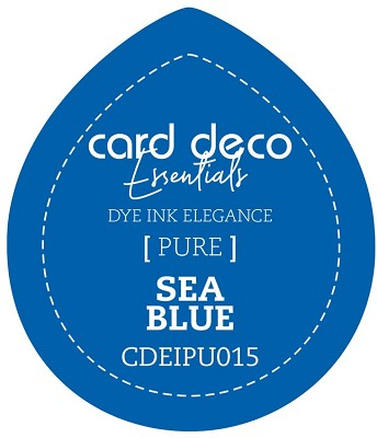 Card Deco Essentials Fade-Resistant Dye Ink - Sea Blue - CDEIPU015