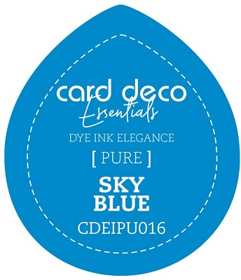 Card Deco Essentials Fade-Resistant Dye Ink - Sky Blue - CDEIPU016