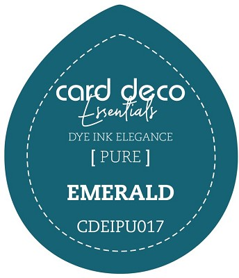 Card Deco Essentials Fade-Resistant Dye Ink - Emerald - CDEIPU017