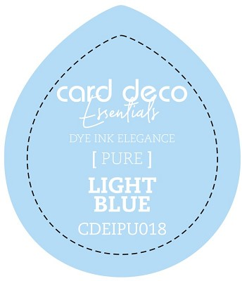 Card Deco Essentials Fade-Resistant Dye Ink - Light Blue - CDEIPU018