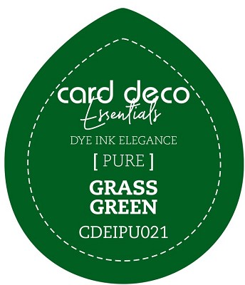 Card Deco Essentials Fade-Resistant Dye Ink - Grass Green - CDEIPU021