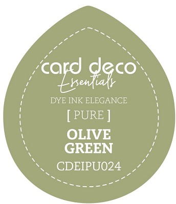 Card Deco Essentials Fade-Resistant Dye Ink - Olive Green - CDEIPU024